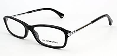 Amazon.com: Emporio Armani EA3006 Eyeglasses-5017 Black ...
