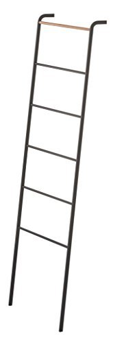 YAMAZAKI home Tower Leaning Ladder Rack Black by YAMAZAKI home