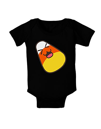 TooLoud Cute Father Candy Corn Family Halloween Baby Romper Bodysuit Dark