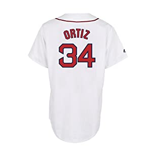 David Ortiz Boston Red Sox Home Replica Jersey by Majestic by Majestic