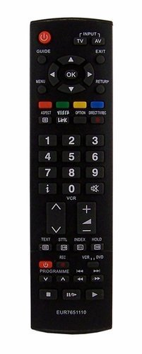 replacement-remote-control-for-panasonic-tvs-with-guide-button