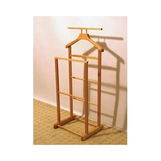 twin rack clothes valet