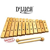 D'Luca 12 Notes Wood Xylophone Glockenspiel XL12A