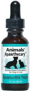Animals' Apawthecary Dandelion/Milk Thistle For Dogs And Cats, 1Oz