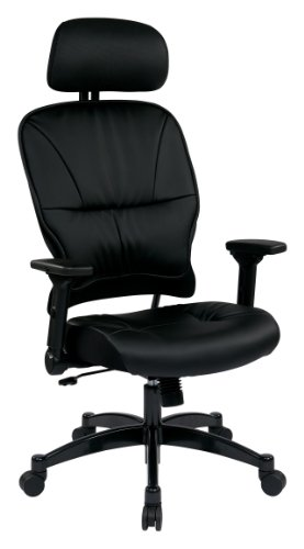 space-seating-eco-leather-seat-and-back-4-way-adjustable-flip-arms-and-gunmetal-finish-base-executiv