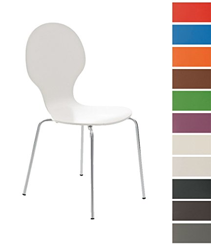 CLP-Stapel-Stuhl-DIEGO-mit-Holzsitz-robust-pflegeleicht-ergonomisch-geformter-Sitzflche-bis-zu-12-Farben-whlbar-wei