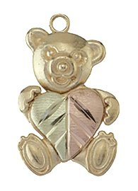 Black Hills Gold Teddy Bear Pendant