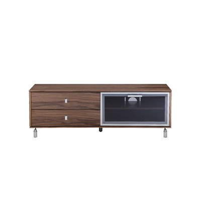 Asal TV Stand Finish: Walnut