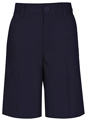 Real School Uniforms  Boy's Husky Flat Front Short Husky