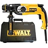 Dewalt D25123K 800-Watt 26mm 3 Mode SSDS Plus Combination Hammer (Yellow and Black)