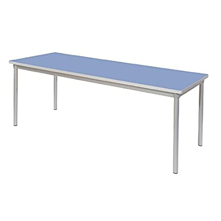 Gopak Enviro Indoor Campanula Blue Rectangle Dining Table 710(H) x 1800(W) x 750(D)mm