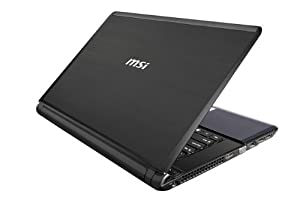MSI X460-004US 14-Inch Laptop - Black