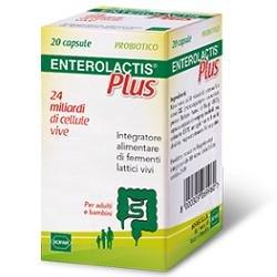 Sofar Enterolactis Plus Integratore Alimentare di Fermenti Lattici - 20 Capsule