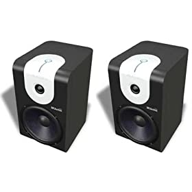 Amazon - Alesis M1 Active 620 2-Way Bookshelf Speakers - $199