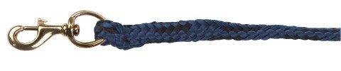 Führstrick Classic, blau mit Messingkarabiner
