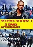 echange, troc Coffret 2 DVD : I, Robot + X-Men 2