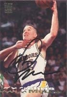 Chris Mullin Golden State Warriors 1994 Stadium Club Autographed Hand Signed Trading... by Hall of Fame Memorabilia
