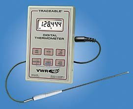 Digital-Thermometer-with-Probe-VWR-Digital-Data-Logger-Thermometers-Model-61220-601-Each-by-VWR