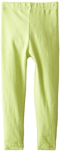 Flap Happy Baby Girls Solid Legging, Grass Green, 24 Months