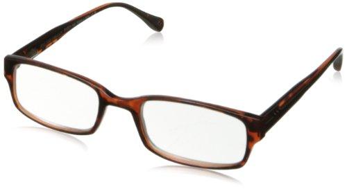 Foster Grant Men'S Slade Rectangular Reading Glasses,Tortoise,51 Mm/+ 1.25