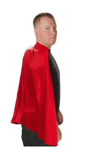 Deluxe Super Hero Costume Cape Red