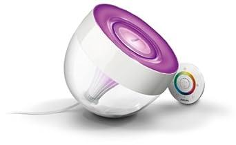 Philips 7099960PH LivingColors Iris Clear Décoration & Lampes d'atmosphère, Intensité des couleurs réglable