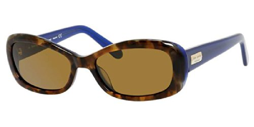Kate Spade Sunglasses - Blanca/P / Frame: Havana Striped Lens: Brown Polarized-Blancapx86P