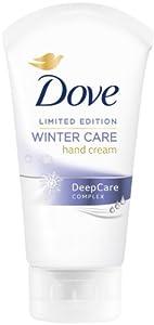 Dove Lot de 6 tubes de crème pour mains Soin hivernal Tubes de 75 ml