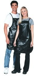 Scalpmaster Vinyl Operator Apron Black (Pack of 2)