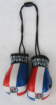 Dominican Republic - Mini Boxing Gloves - 1