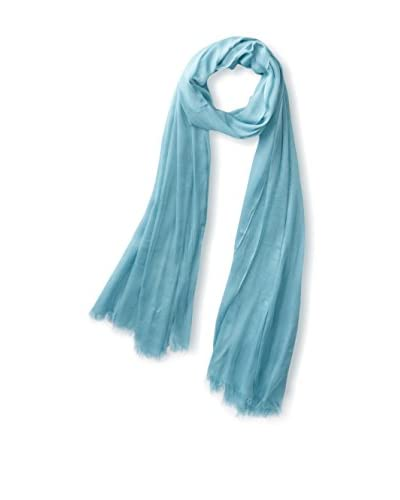 Elie Tahari Women's Modal Solid Oblong Scarf, Turquoise