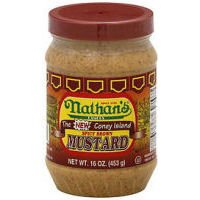 Nathans Famous The Coney Island Spicy Brown Mustard - 16 Oz from Nathans