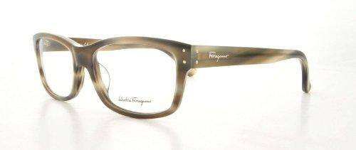 Salvatore Ferragamo SF 2646 031 Grey Horn Women's Eyeglasses 55mm