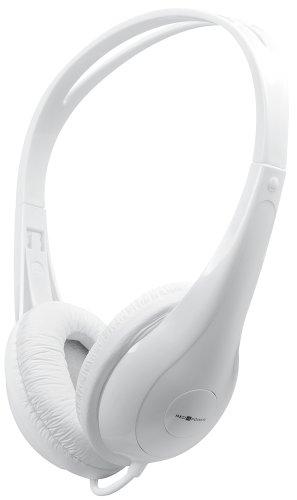 Red4Power R4-H004W Stereo-Kopfhörer (3,5mm Klinkenstecker, 109dB) weiß