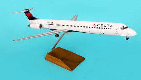 1: 100 スカイマークスSuprem Delta Air Lines MD-80 New Colors (並行輸入)