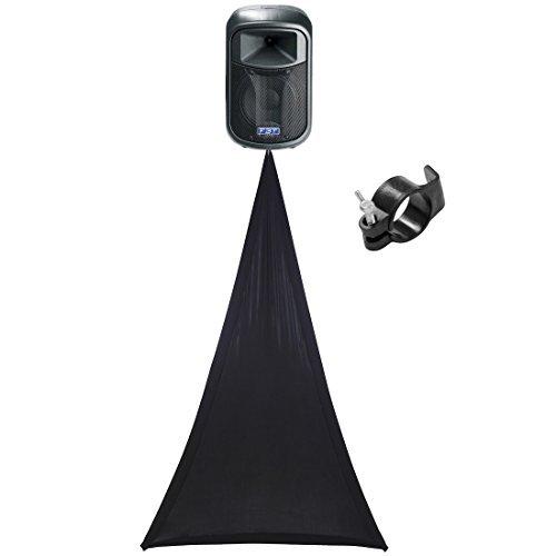 how to make speaker stand scrim