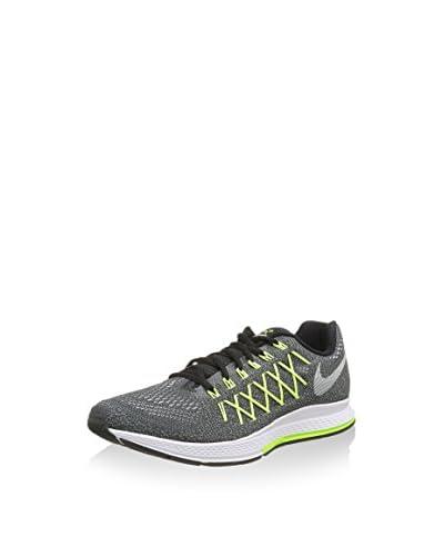 Nike Zapatillas Air Zoom Pegasus 32 Cp Negro / Amarillo Flúor