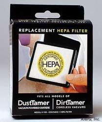 Filterstream H-100 Dirttamer Hand-Held Vacuum Hepa Filter front-4253