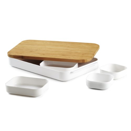 Umbra Bento Cut and Prep Bamboo Cutting Board and Bowl Set, 7-Piece Reviews