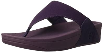 FitFlop Sandals LuluTM Canvas SuperJam SuperJam UK3