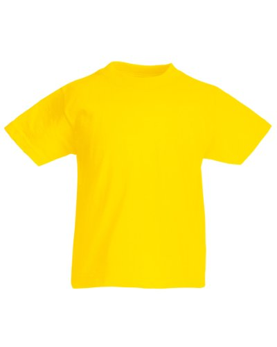 fruit-of-the-loom-childrens-kids-unisex-valueweight-short-sleeve-t-shirt-7-8-yellow