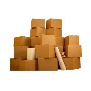 4 Room Economy Kit- 55 Moving Boxes & Packing Supplies: