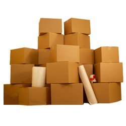 7 Room Basic Moving Kit- 110 moving boxes, & $52 in moving supplies: