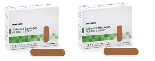 mckesson-performance-bandage-adhesive-fabric-strip-100-count-pack-of-2