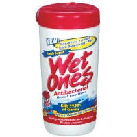 Wet Ones Fresh Scent Antibacterial Moist Wipes 40 Ct (Pack Of 12) front-640175