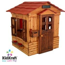 Cheap children 39 s wooden playhouses outdoor for Cheap playhouse kits