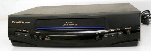 Panasonic PV-8405S Video Cassette Recorder Player VCR 4 Head Omnivision VHS Energy Star Rated (Panasonic Omnivision compare prices)