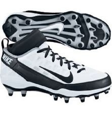 Buy Nike Air Zoom Super Bad TD Mens Molded Football Cleats (Black White) by Nike