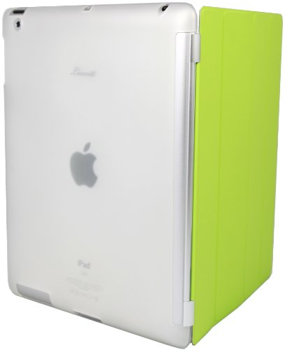 Luvvitt DOLCE Slim-fit Smart Cover Companion / Compatible TPU Case (back cover only) for iPad 2 - Clear
