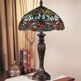 com dale tiffany lamps multi color table lamps lamps shades. Black Bedroom Furniture Sets. Home Design Ideas